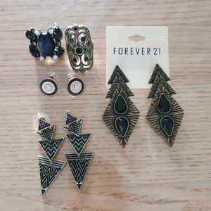 Black & Gold Stylish jewellery